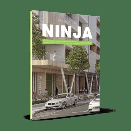 ספר סקצ׳אפ NINJA 1