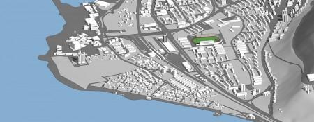 מודל סקצ'אפ של חיפה 1
