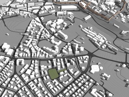 מודל סקצ'אפ של ירושלים 1