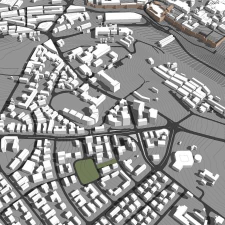 מודל סקצ'אפ של ירושלים 4
