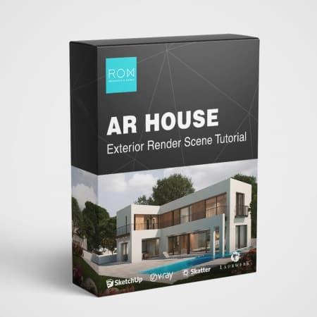 מודל AR HOUSE - מדריך וידאו להדמיית חוץ 3