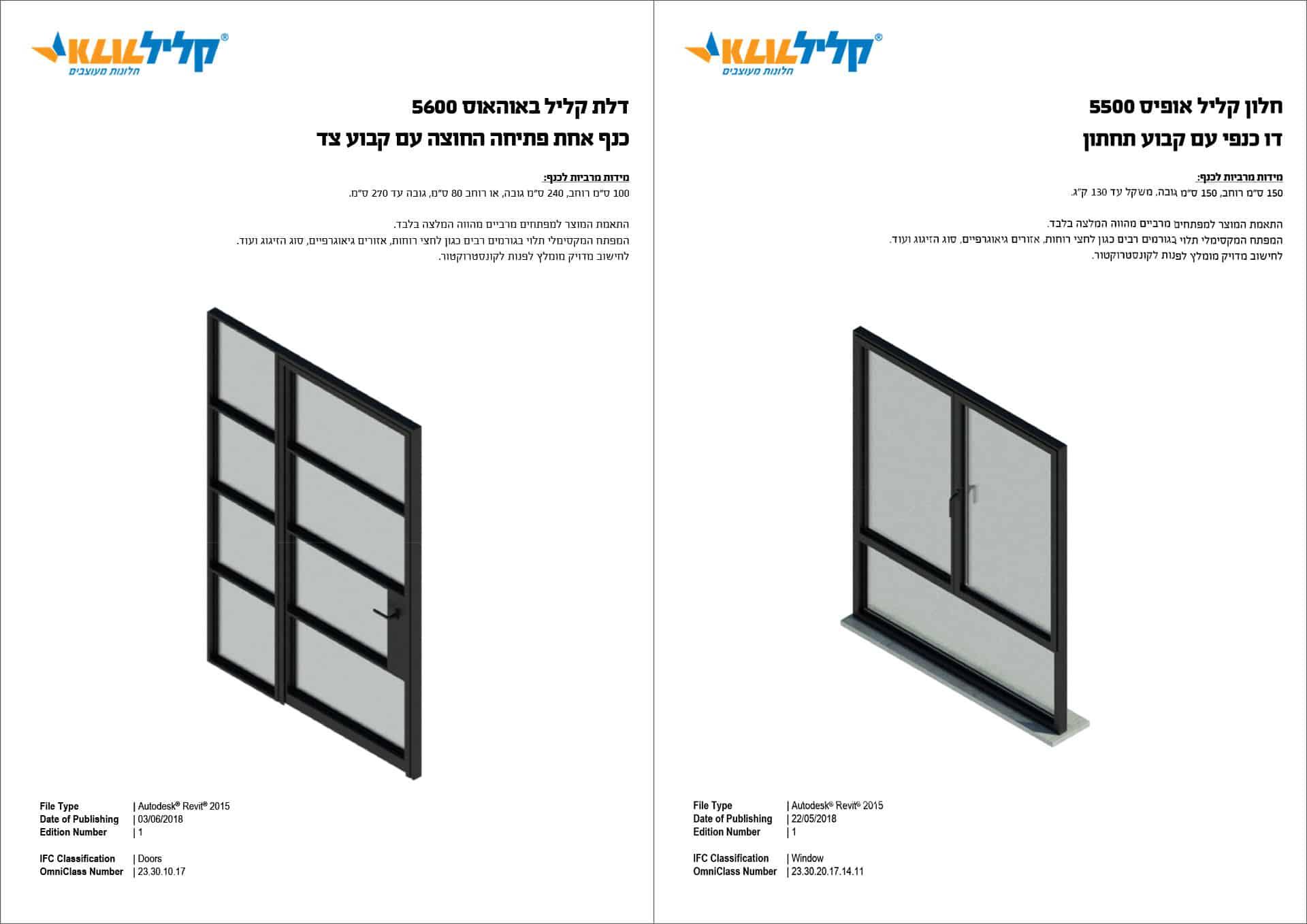 איך מורידים חלונות של קליל לרוויט? 2