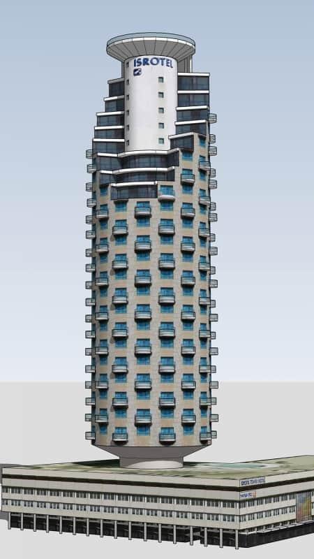 מלון ישרוטל בתל אביב 1