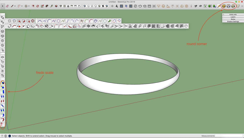 איך מרנדרים טבעת יהלום עם ויריי? 8
