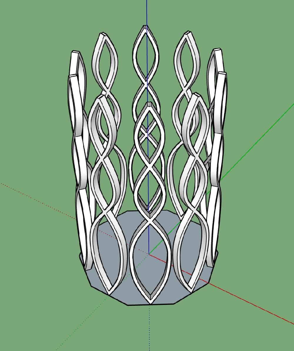 איך מעצבים רהיטים עם סקצ'אפ? 12