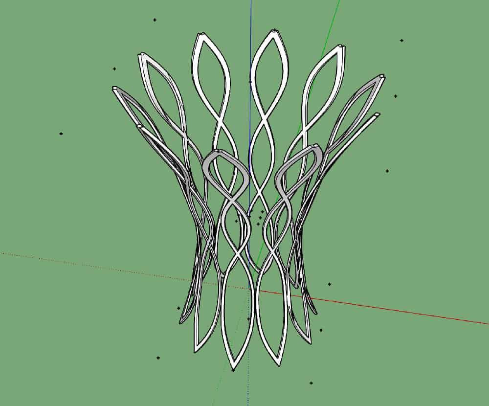 איך מעצבים רהיטים עם סקצ'אפ? 16