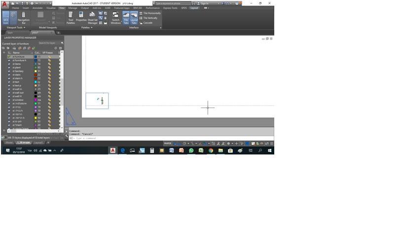 הדפסות – כפתור viewport לא פעיל 1