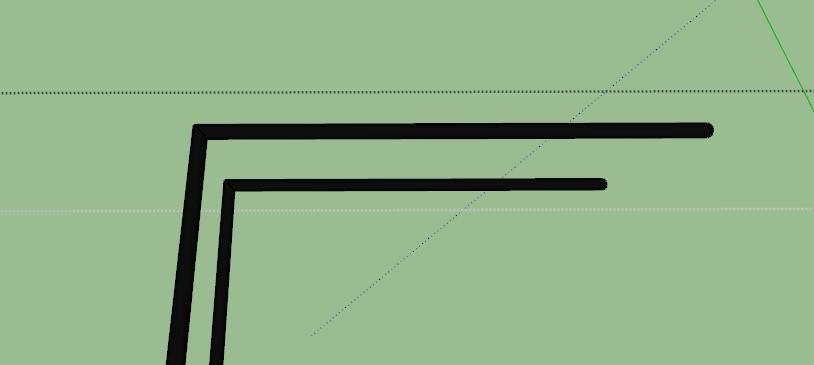 עיגול פינות חדות בסקצ'אפ 1