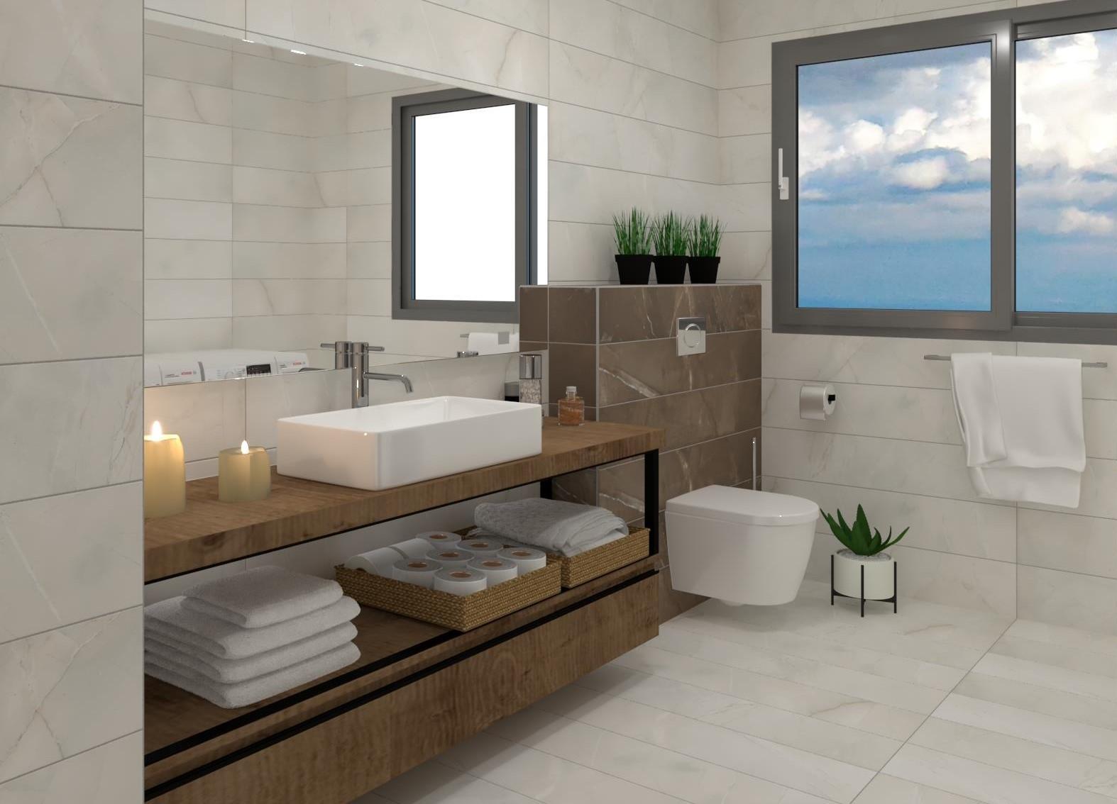הדמיית אמבטיה – מעלה לביקורת 1