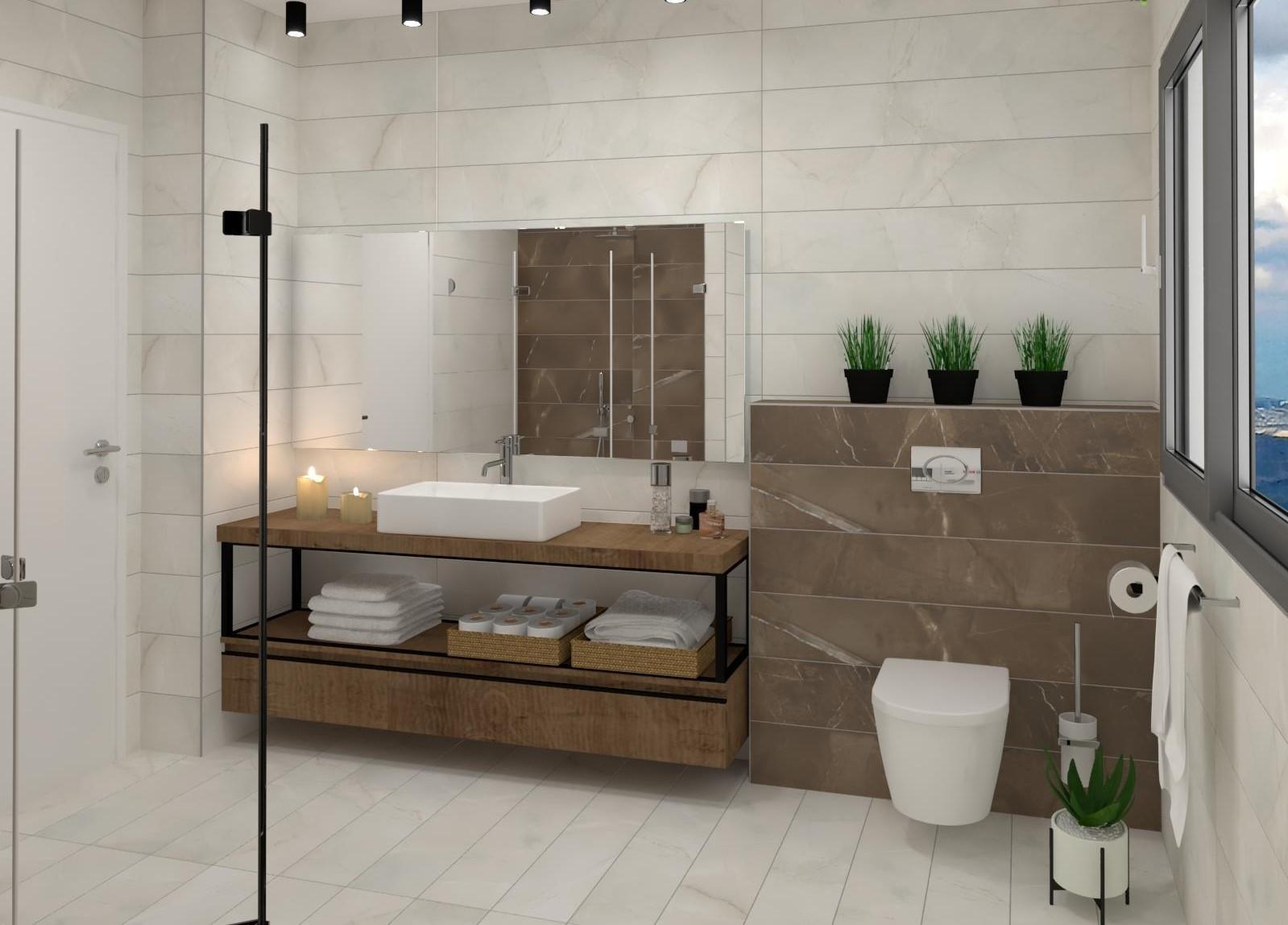הדמיית אמבטיה – מעלה לביקורת 2
